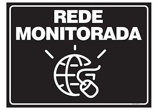 PLACA REDE MONITORADA