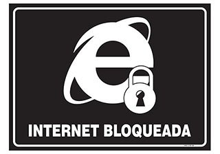 PLACA INTERNET BLOQUEADA