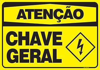 PLACA CHAVE GERAL